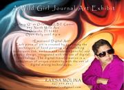EXHIBIT ENDS DEC. 31ST -- A Wild Girl Journal Art Exhibit
