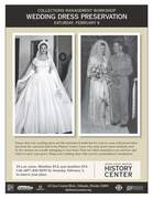 Collections Management Workshop: Wedding Dress Preservation
