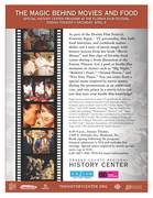 The Magic Behind Movies and Food: Special History Center Program at the Florida Film Festival Enzian Theatre