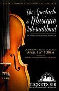 Central Florida Community Orchestra proudly presents: Un Spectable de Musique Internationale!!