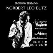 Norbert Leo Butz - Memory & Mayhem Unplugged