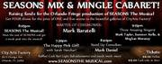 The SEASONS Mix and Mingle Cabaret!