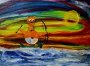 Venezuelan artist- Armando Zullo H. at Little Fish Huge Pond