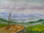 Watercolor Atmospheric Perspective