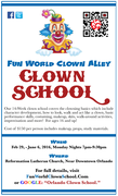 Fun World Clown Alley Clown School 2016