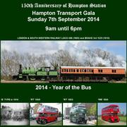 Hampton Transport Gala - Sunday 7th September 2014