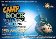 Camp Rock the Musical - auditions