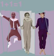 1+1=1 A Contemporary Performance with Film