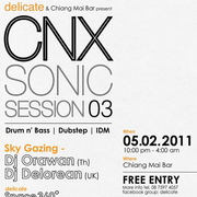 """CNX Sonic Session 03"" Party"