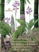 """นิทรรศการ """"ภาพวาดสีน้ำกล้วยไม้และพรรณพฤกษาแห่งหิมาลัย"""" (Watercolour Paintings of Unique and Exquisite Orchids and other plants of the Himalayas)"""