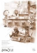 """นิทรรศการศิลปะ """"Doodle Cafe"""""""