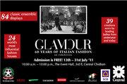 """นิทรรศการ """"60 ปีของแฟชั่นอิตาลี"""" (Glamour)"""