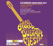 The Bangkok Guitar Fiesta 2012