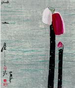 """นิทรรศการ """"Spring Blossoms - Chinese Master Jia Pingxi's Ink"""""""