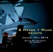 """การแสดงดนตรีรับลมหนาวที่หอศิลป์ ครั้งที่ 2 """"6 HANDS ONE PIANO reunite"""""""