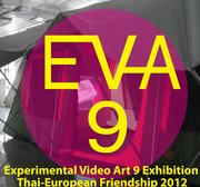 """นิทรรศการ """"Experimental Video Art 9 Exhibition Thai-European Friendship 2012"""""""
