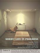 """นิทรรศการ """"Sorry!Life in progress"""""""