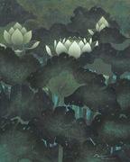 """นิทรรศการ """"ณ บึงบัว"""" (At a Lotus Pond)"""