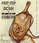 """นิทรรศการ """"FIRST STEP of DCXIX & THE GANG OF STAR"""""""