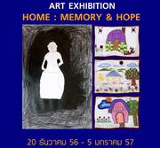 """นิทรรศการ """"Home : Memory & Hope"""""""