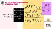 """นิทรรศการ """"10795 days of Bummer"""""""