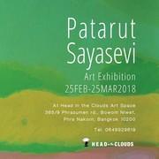 """นิทรรศการ """"Patarut Sayasevi"""""""