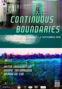 """นิทรรศการ """"Continuous Boundaries"""""""