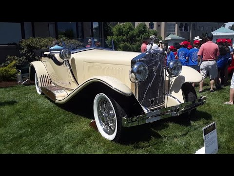1933 Isotta Franschii Tipo 8A Sports Tourer By Castagna  At the 2019 Elegance At Hershey
