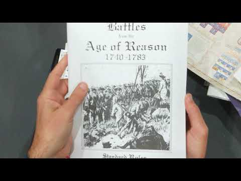Unboxing: The Battle of Fontenoy: 11 May, 1745 [Clash of Arms Games 2012]