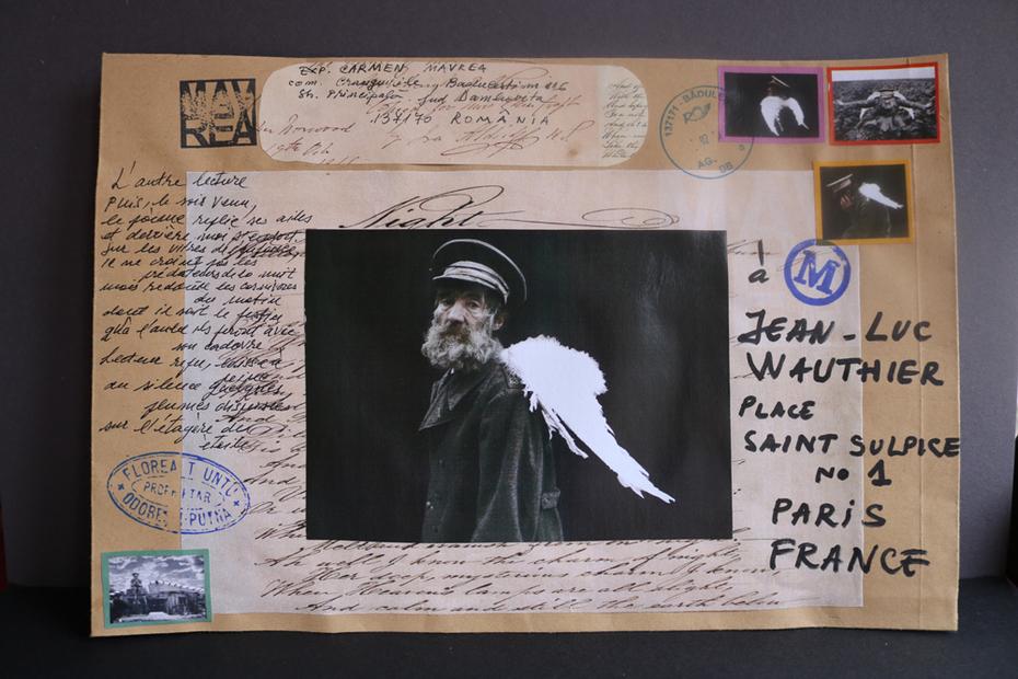 letter poem for Jean Luc Gautier, Paris France