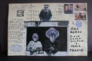 letter poem for Max Alhau Paris France