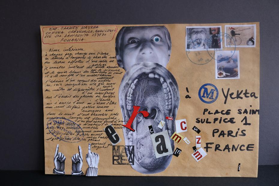 Letter poem for Yekta- Paris France