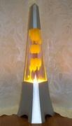 Pyramid Lava Lamp 2