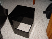 Larry Albright outer case, black acrylic