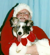 Teri and Santa