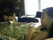 Jack and Mikey chillin