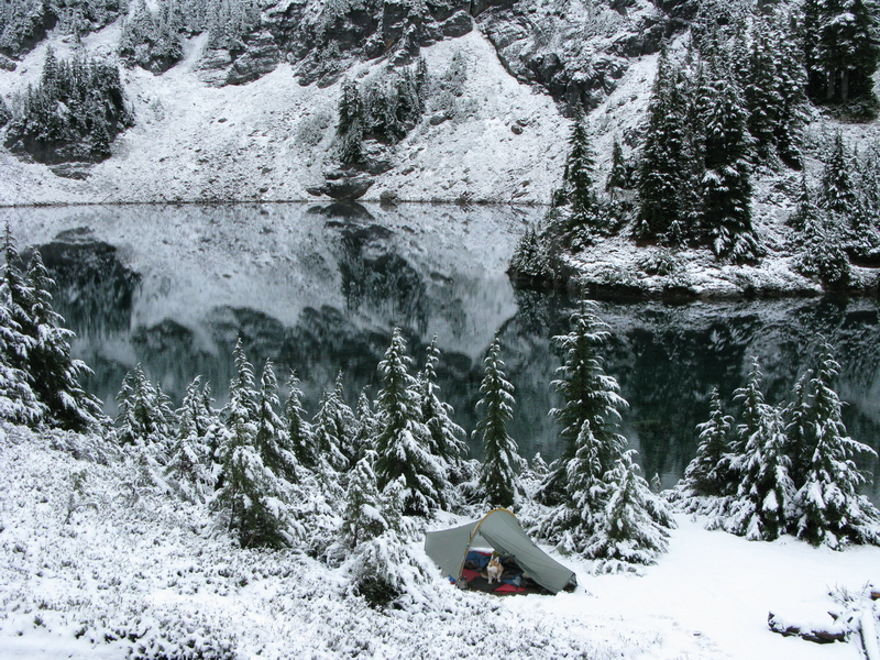 Blue Lake morning