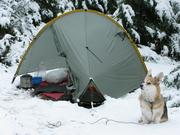 Blue Lake camp.