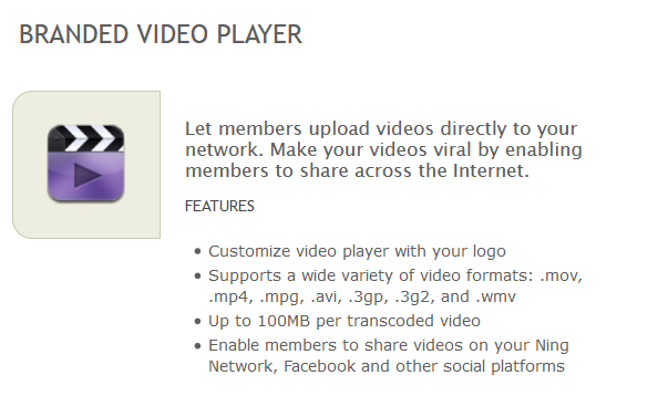 Would you like to upload videos (up to 100meg) to this site?