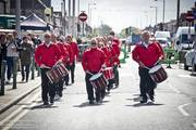 Cleveleys Car Show Pt 3 Models and Marching bands