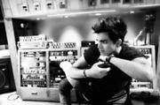 Adam In Studio