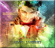 Adam  rainbow colors