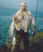 Pesca Costera Mexcico. (surf fishing con carnada).