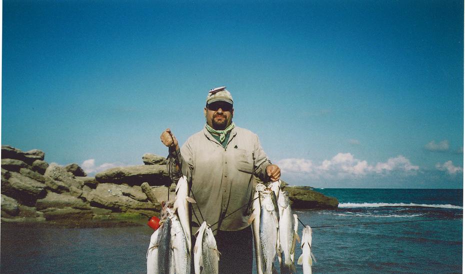 Pesca Costera Mexcico. (surf fishing con señuelos)