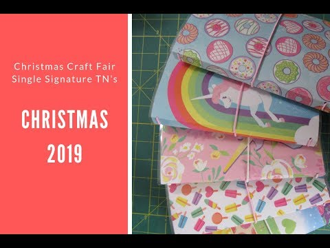 Christmas Craft Fair 2019 (Travelers Notebooks)