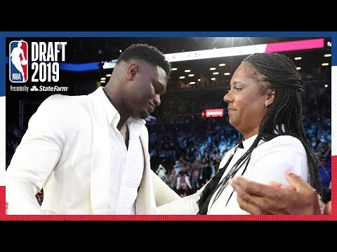 Zion Williamson Emotional After Being Selected #1 OVERALL | NBA Draft 2019