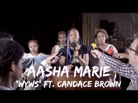 "#NEWChristianRap - Aasha Marie  -""WYWS"" ft. Candace Brown(@ChristianRapz)"