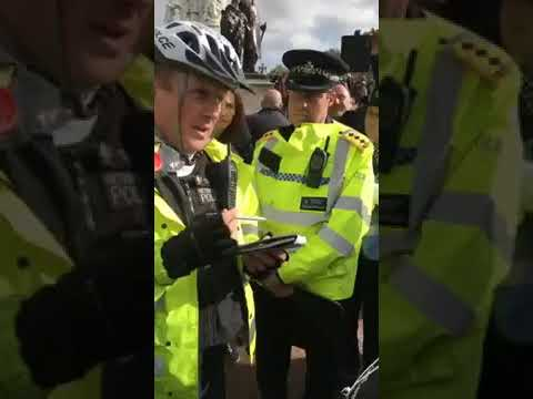 Daddy Dragon arrested outside Buckingham Palace for Petitioning the Queen
