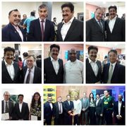 Sandeep Marwah Part of Rugby Session at Fiji High Commission