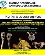 TRES METODOLOGÍAS BIOARQUEOLÓGICAS: PARA ANALIZAR CAMBIOS BIOMECÁNICOS EN LOS ESQUELETOS